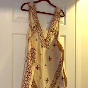 Free People - mini boho dress - sz S